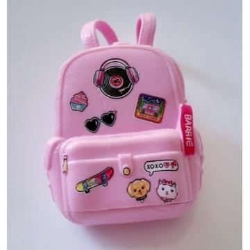 Plecak lalki Barbie różowy oryginalny użyteczny