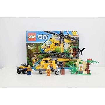Lego City Helikopter transportowy 60158+60157