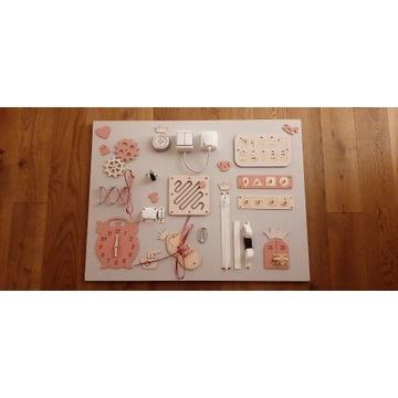 Tablica manipulacyjna/sensoryczna rozmiar 60x80cm