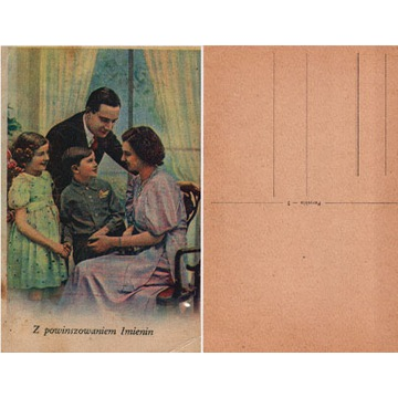 Kartki pocztowe, pocztówki, stare komplet