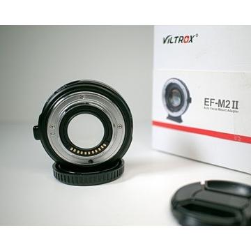 Viltrox EF-E II speedbooster do  Canon EF