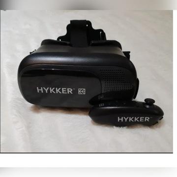 Gogle VR Glasses 3D + pilot BT HYKKER,okulary