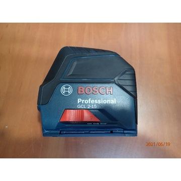 Laser krzyżowy BOSCH GCL 2-15