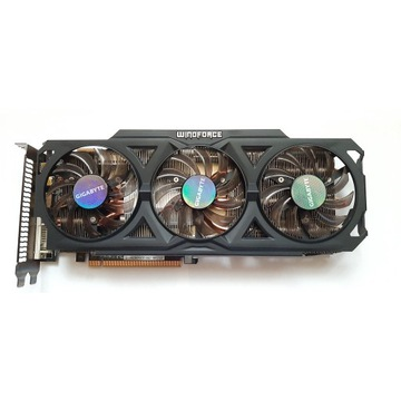 Gigabyte Radeon R9 280X 3072MB 384bit WindForce OC