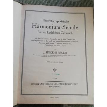 Harmonium-Schule von K. Singenberger 1926
