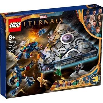 LEGO 76156 Marvel Super Heroes - Domo powstaje