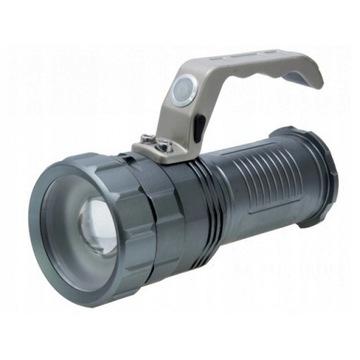 Latarka taktyczna akumulato LED szperacz policyjna