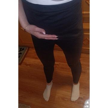 Getry legginsy czarne spodnie ciążowe r 36S Esmara