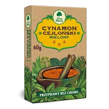 Cynamon cejloński mielony, przyprawa, Dary Natury