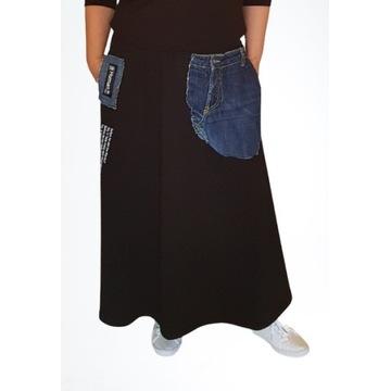 Acqua Limone Florence spódnica czarna/ciemny jeans