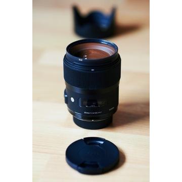 Sigma 35mm f/1.4 Art DG HSM
