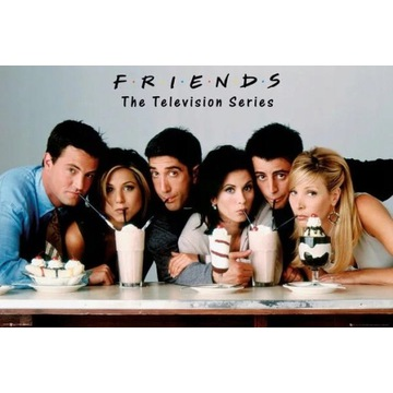 Plakat Przyjaciele - Milkshake 61,5X91