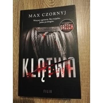 Książka Max Czornyj Klątwa
