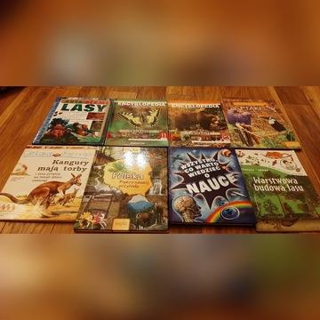 Zestaw książek dla młodego przyrodnika