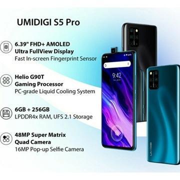 Umidigi S5 Pro! 6GB RAM + 256GB ROM! NFC!