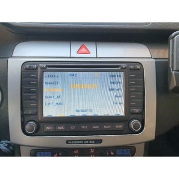 Radio navi zmieniarka VW Blaupunkt BNO 881 MDF2
