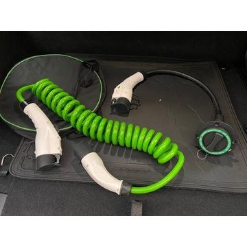 Kabel skrętny z T2 na T1 i przejściówka z T2 na T1