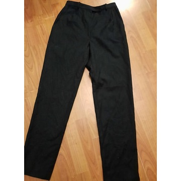 Spodnie z wełną ASTRA WYSOKI STAN VINTAGE 34 XS