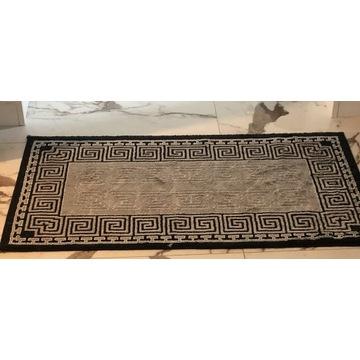 Dywan dywanik azteckie wzory czarno szary