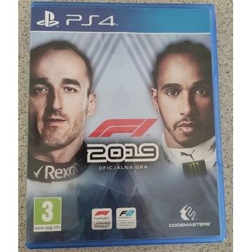 Gra F1 2019 używana PS4