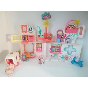 Figurki lps zestaw szpital Little pet shop domek