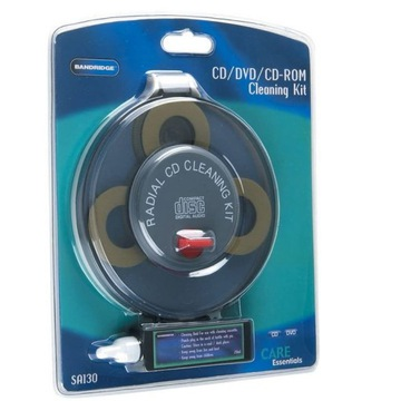 Zestaw czyszczący Bandridge SA130 CD / DVD