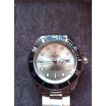Rolexx SUBMARINER [Srebrny]