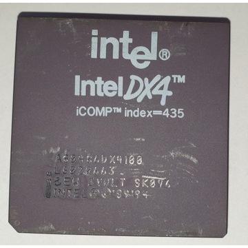 Procesor INTEL 486DX4-100