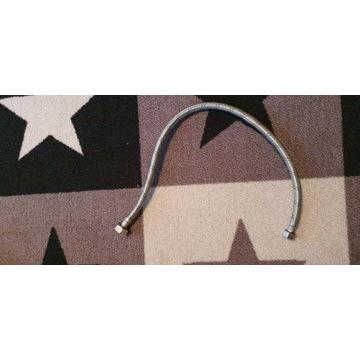 Wąż elastyczny w oplocie stalowym