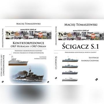 2 książki taniej: Scigacz S.1 i Kontrtorpedowce