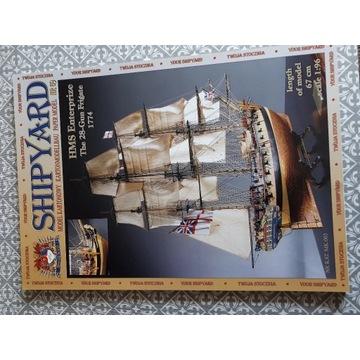 Model kartonowy Shipyard 69 Fregata HMS Enterprize