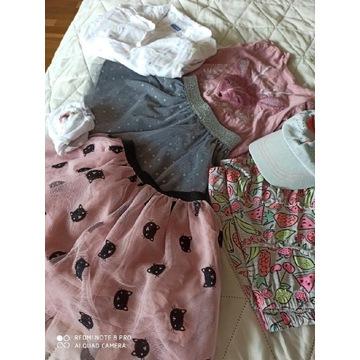 Ubranka dla dziewczynki 92,98
