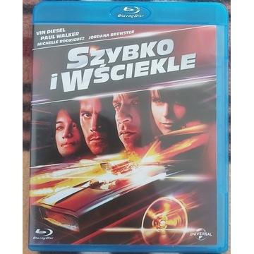 Szybko i wściekle. Blu-ray. Polskie wydanie.