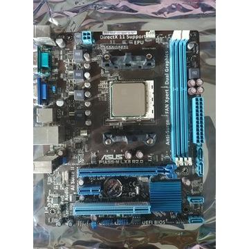 Płyta główna ASUS F1A55-M i AMD Athlon II X4 651K