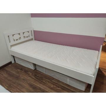 Łóżko dziecięce z materacem producent Ikea