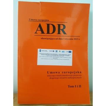 Umowa europejska ADR 2013 - 2015