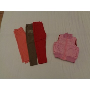 OKAZJA Ubranka duży zestaw dla dziewczynki 104