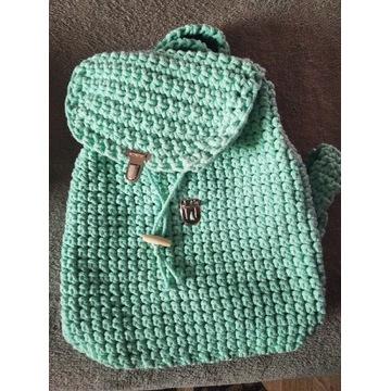 Plecak ze sznurka bawełnianego