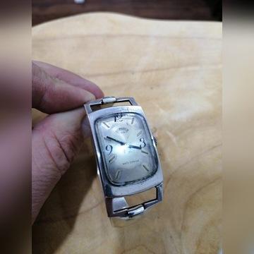 Stary srebrny zegarek Moonwatch pr800