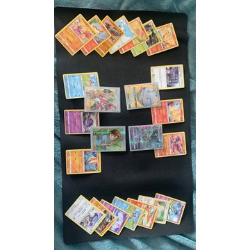 24 karty pokemon. 2 GX I 2 TRENERÓW