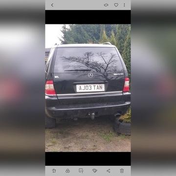 Klapa tylna Mercedes  ml 163