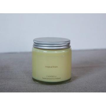 Świeca sojowa 120 ml owoce tropikalne