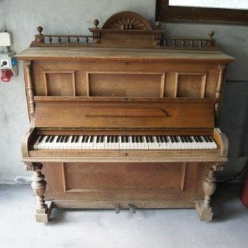 Zabytkowe pianino Ferdinand Schaaf Frankfurt A/M.