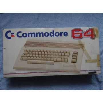 COMMODORE C64 BOX ZESTAW 2 JOY GRY BLACK BOX
