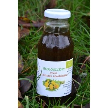 Ekologiczny syrop z mniszka lekarskiego 300 ml