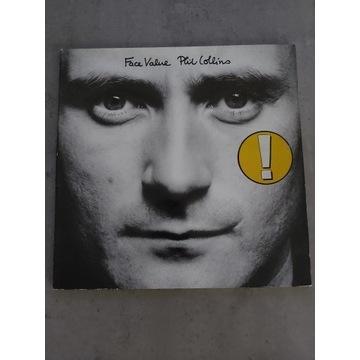 Phil Collins- Face Value LP 1981 WEA 99143  Vg/Vg+