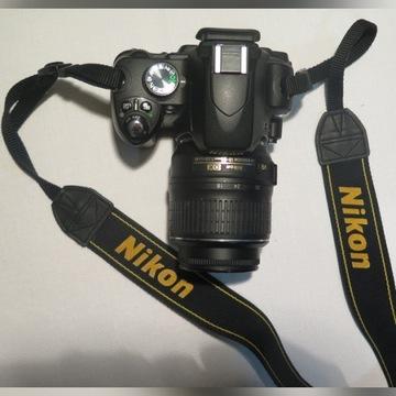 NIKON D60 b.dobry stan techniczny