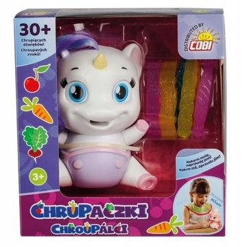 Chrupaczek-Jednorożec i Świnka zabawka interaktywn