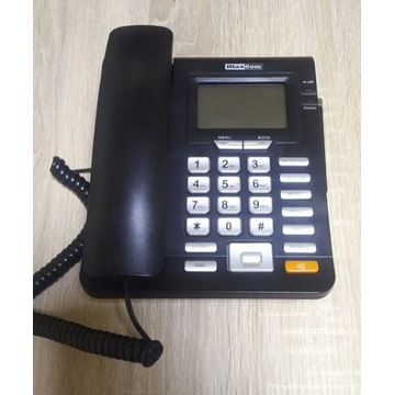 Telefon dla seniora Maxcom MM28D sim stacjonarny