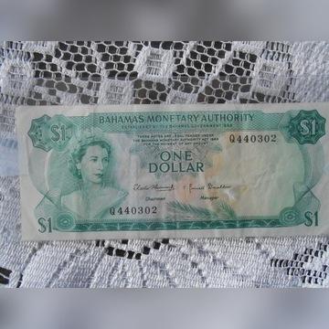 BAHAMY 1968 1 Dolar. Piękny stan - Jedyny na alleg